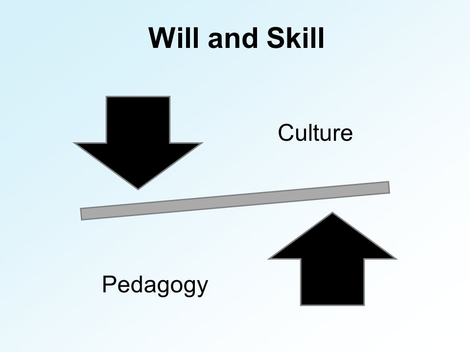 Will and Skill Culture Pedagogy