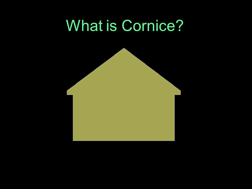What is Cornice?