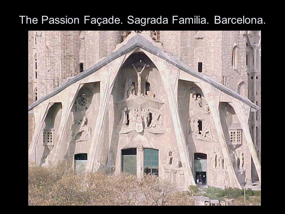 The Passion Façade. Sagrada Familia. Barcelona.