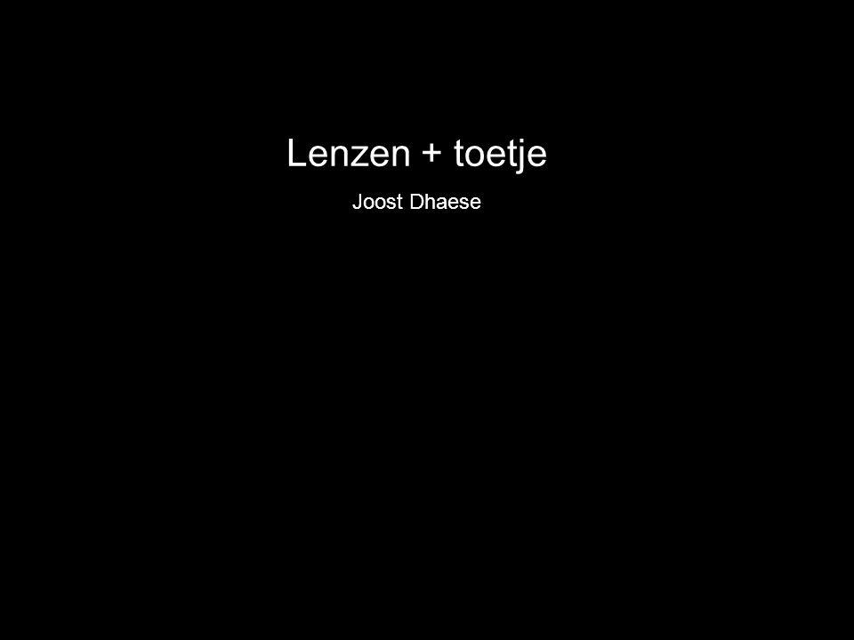 Lenzen + toetje Joost Dhaese