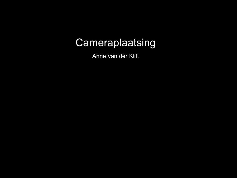 Cameraplaatsing Anne van der Klift