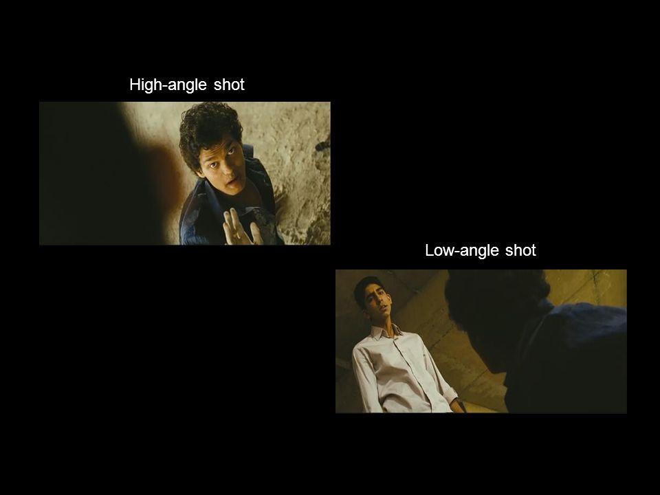 Low-angle shot High-angle shot