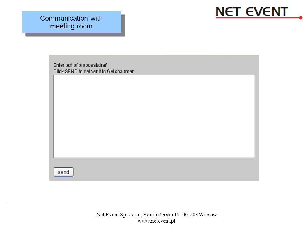 Net Event Sp.