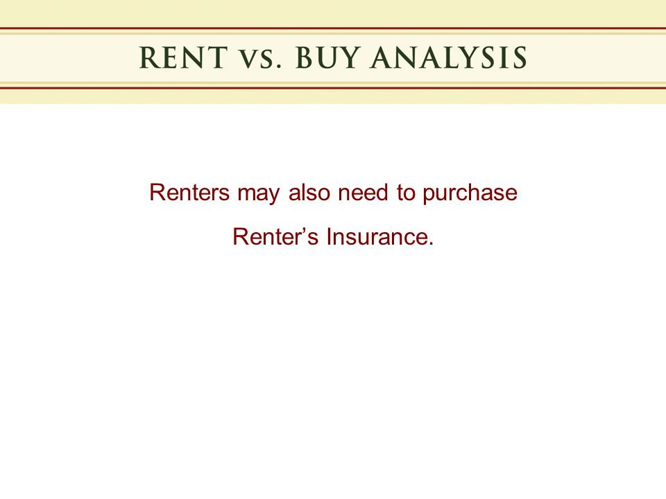Notes Notes: Rents generally increase 3-4% annually and will double in approximately 18-20 years.