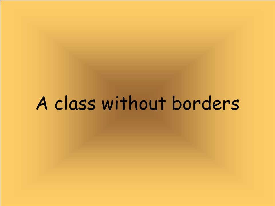 A class without borders