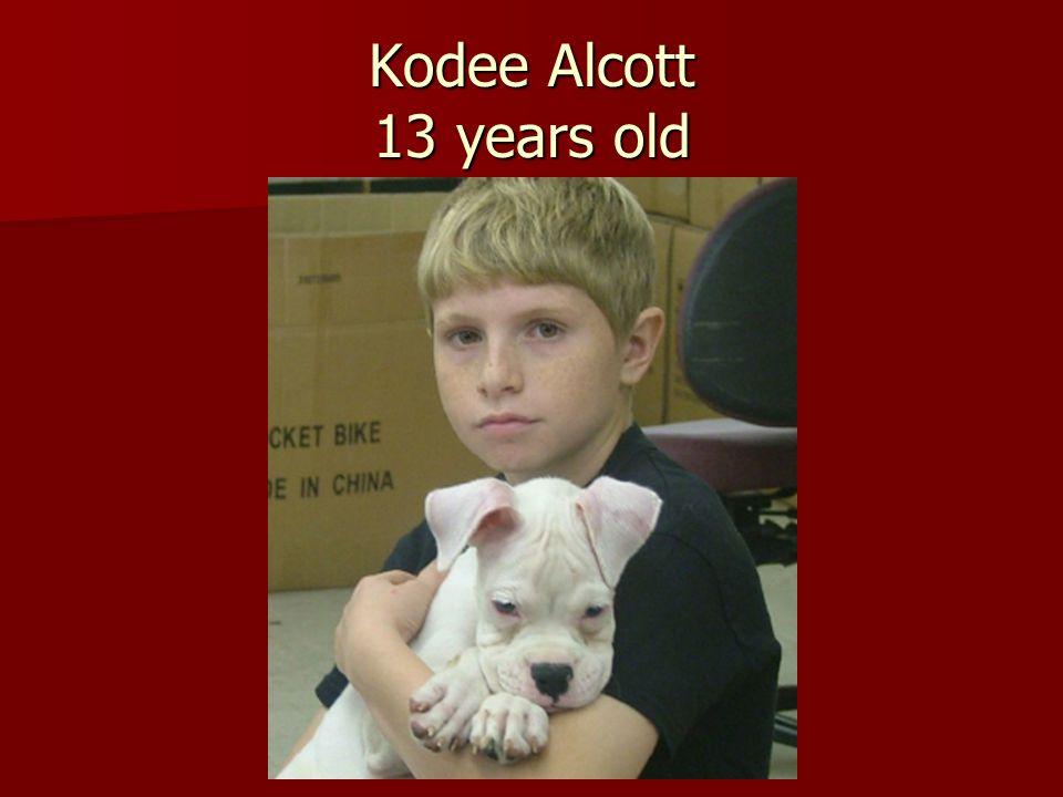 Kodee Alcott 13 years old