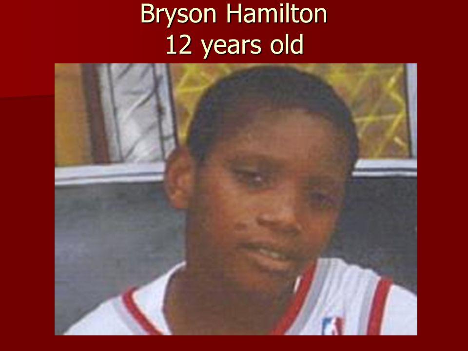 Bryson Hamilton 12 years old