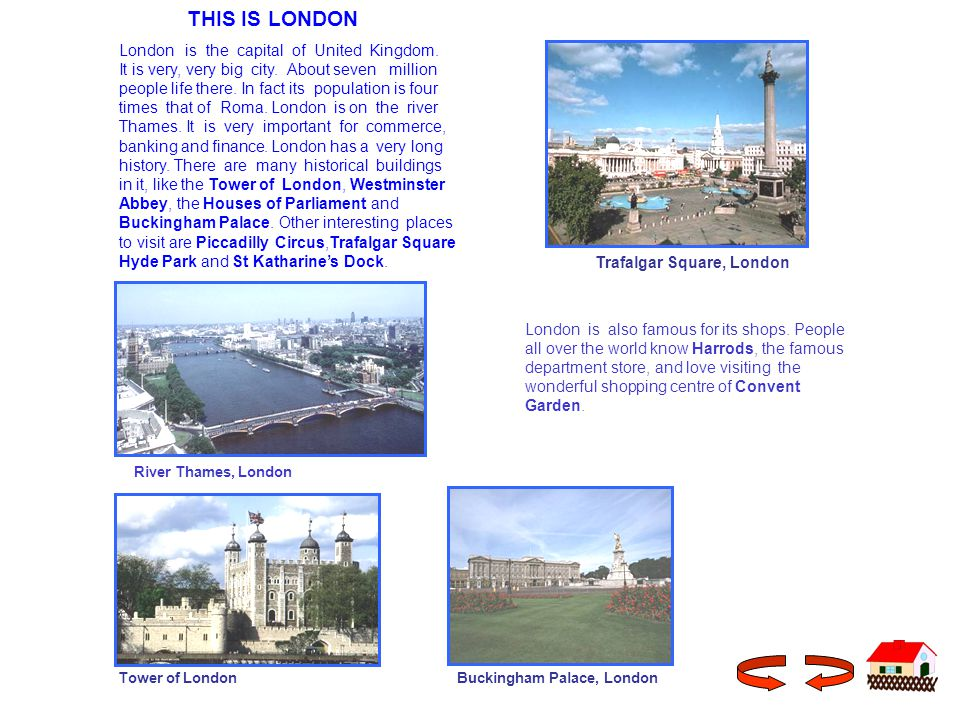 THIS IS LONDON London is the capital of United Kingdom.