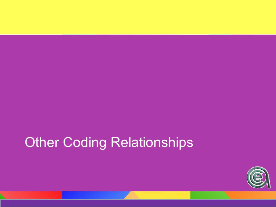 Other Coding Relationships