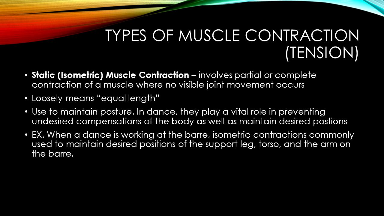 VOCABULARY 21-40 Distal Lever Axis Effort Resistance Torque Dynamic Muscle Contraction Concentric Muscle Contraction Eccentric Muscle Contraction Isometric Contraction Agonist/Mover Antagonist Synergist Stabilizer Force Couple Uniarticulate Muscle Biarticulate Muscle Multiarticulate Muscle Active Insufficiency Static Stretching
