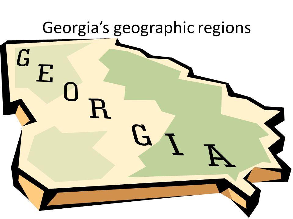 Georgia's geographic regions