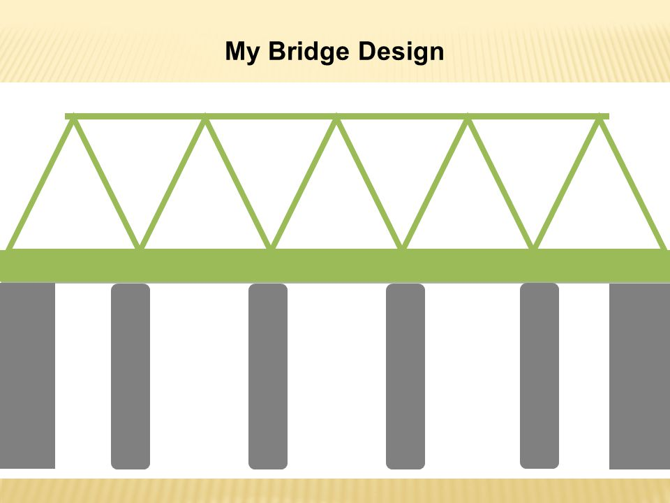 My Bridge Design