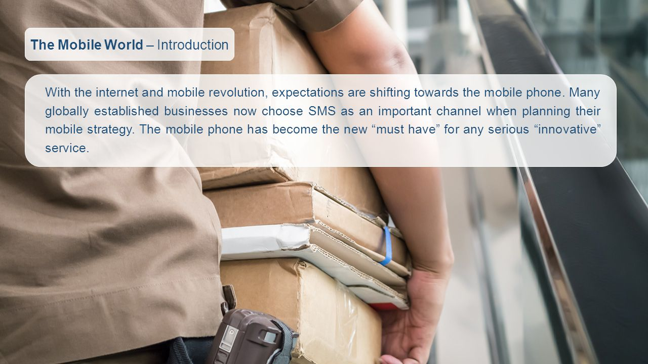 With the internet and mobile revolution, expectations are shifting towards the mobile phone.