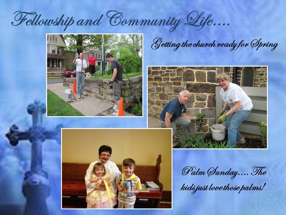 Fellowship and Community Life….St. Paul's Birthday Auction….