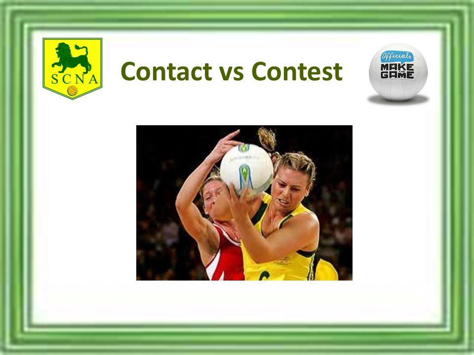 Contact vs Contest
