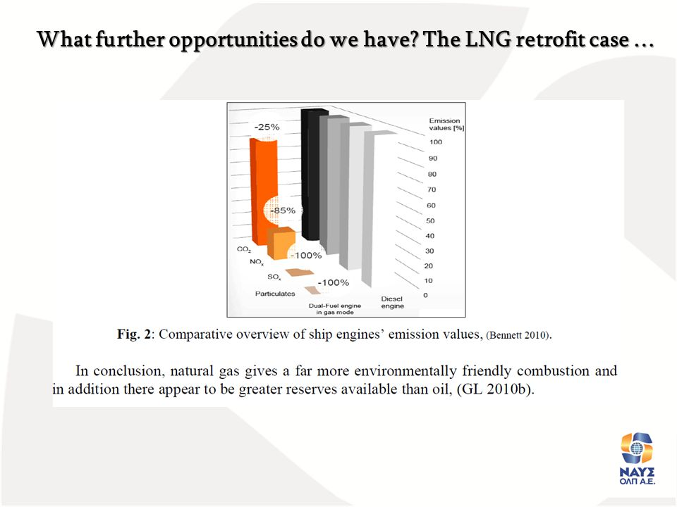 What further opportunities do we have? The LNG retrofit case …
