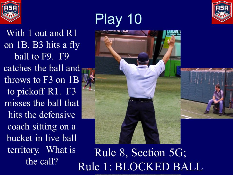 Play 10 With 1 out and R1 on 1B, B3 hits a fly ball to F9.