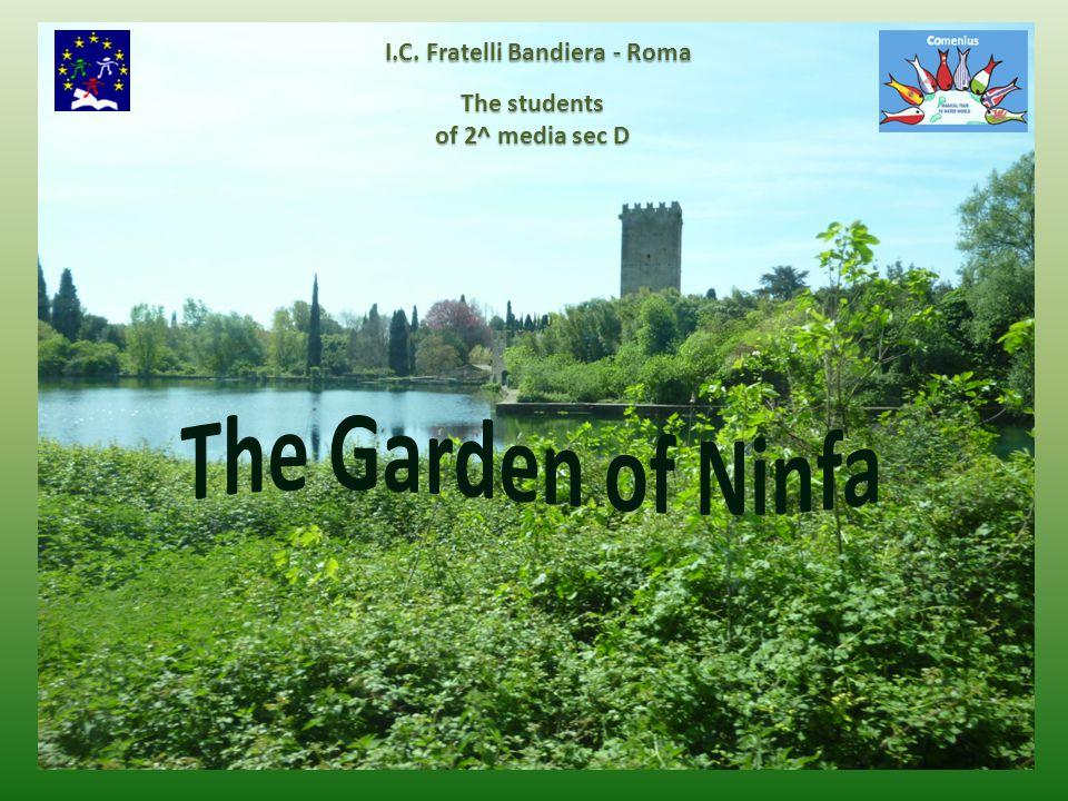 The students of 2^ media sec D I.C. Fratelli Bandiera - Roma