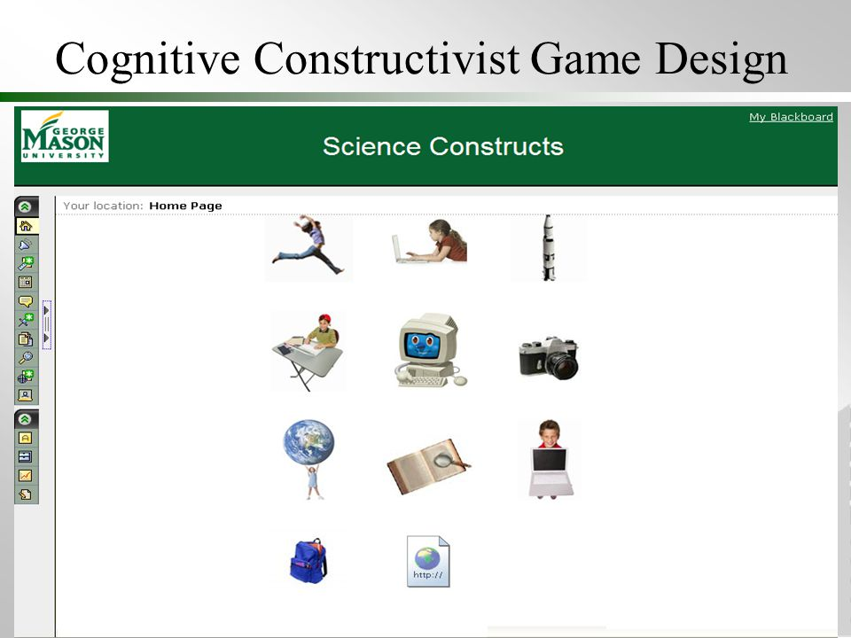 Cognitive Constructivist Game Design
