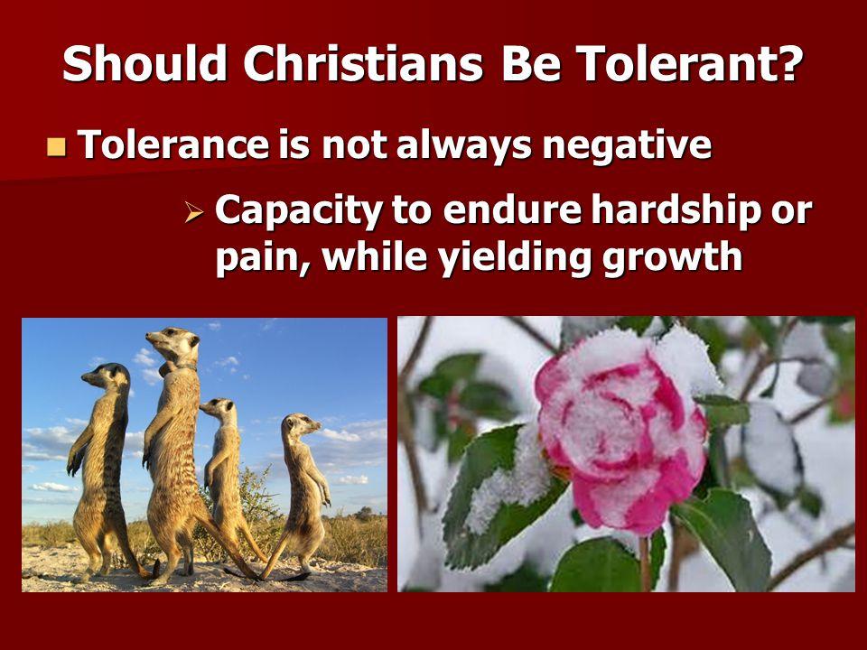 Matthew 10:16-23 Matthew 10:16-23 Should Christians Be Tolerant.
