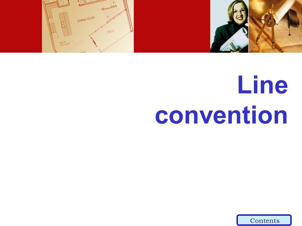 Line convention Contents