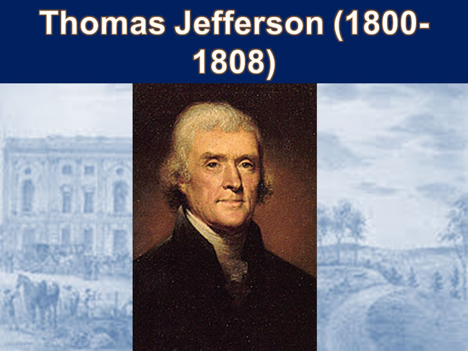JEFFERSON'S AGENDA: Alien/Sedition Acts gone Reduce size of fed.