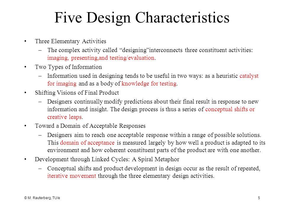 © M. Rauterberg, TU/e16 How to achieve User-Centred Design?