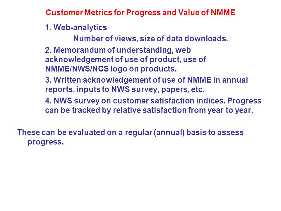 Who are potential customers for NMME products.Groups that currently use CPC's ISI-SI forecasts.