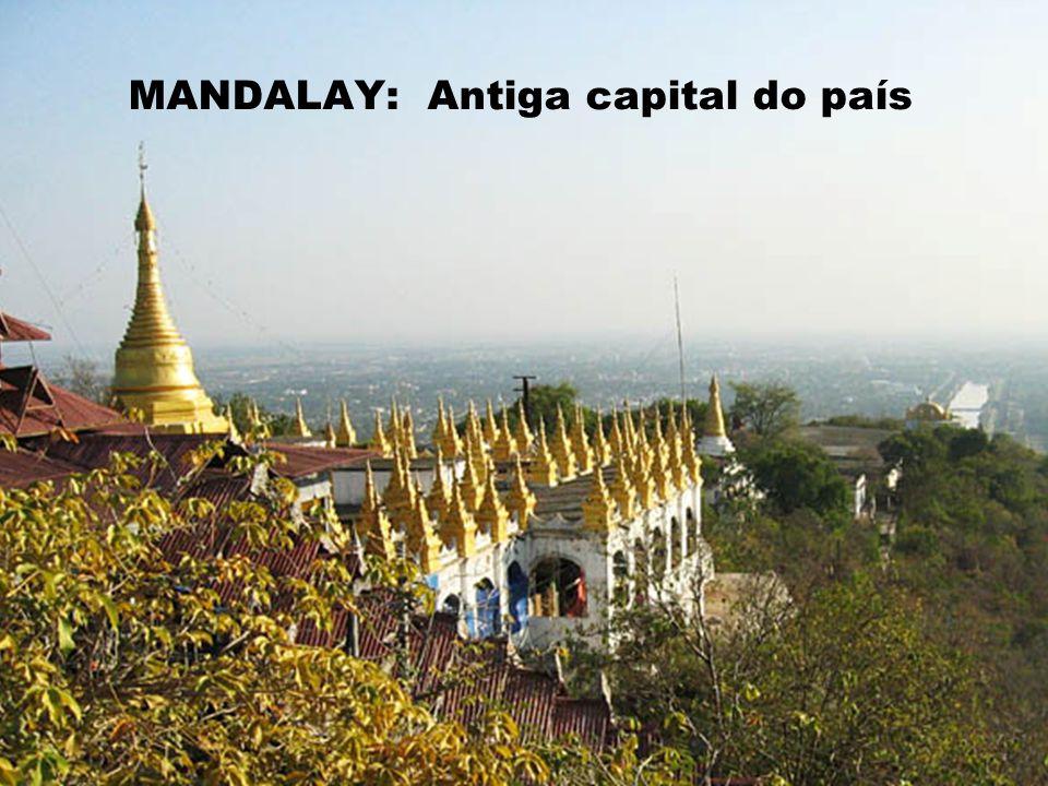 MANDALAY: Antiga capital do país