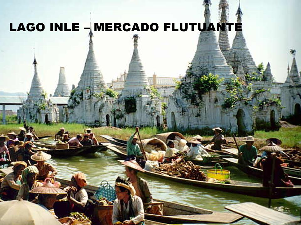 LAGO INLE – MERCADO FLUTUANTE