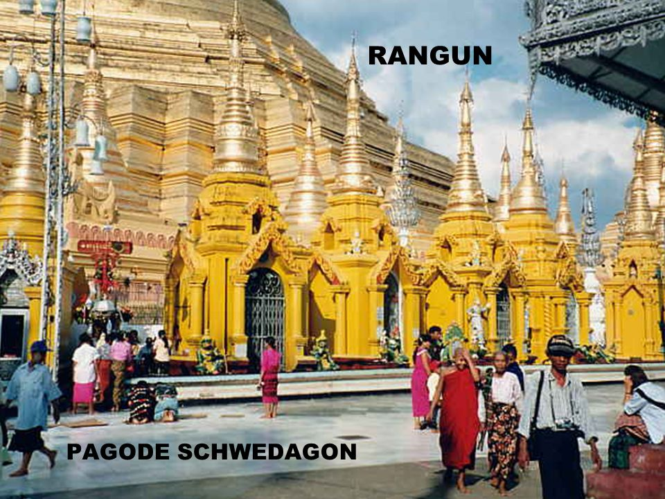 RANGUN PAGODE SCHWEDAGON