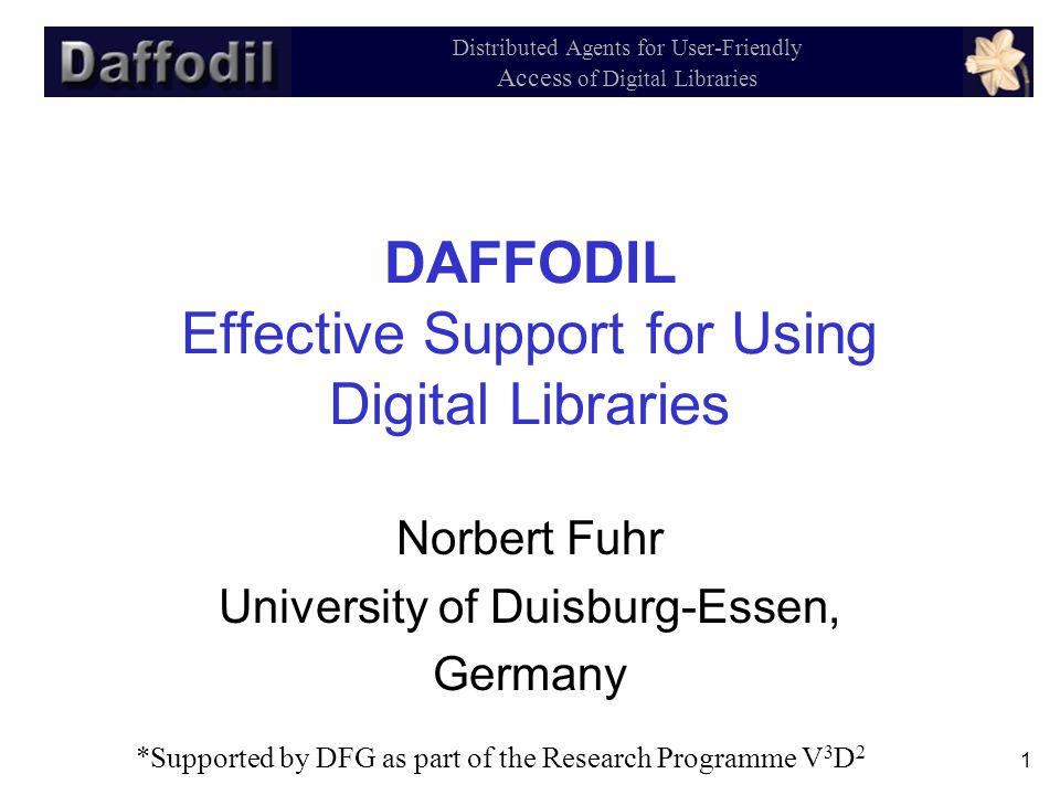 32 Distributed Agents for User-Friendly Access of Digital Libraries 6.