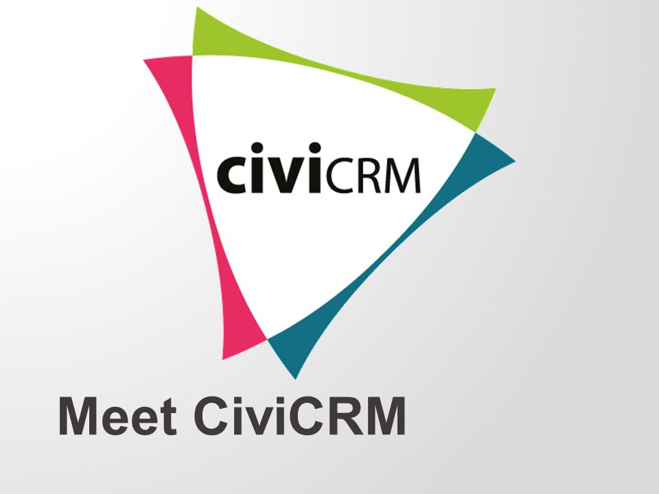 Meet CiviCRM