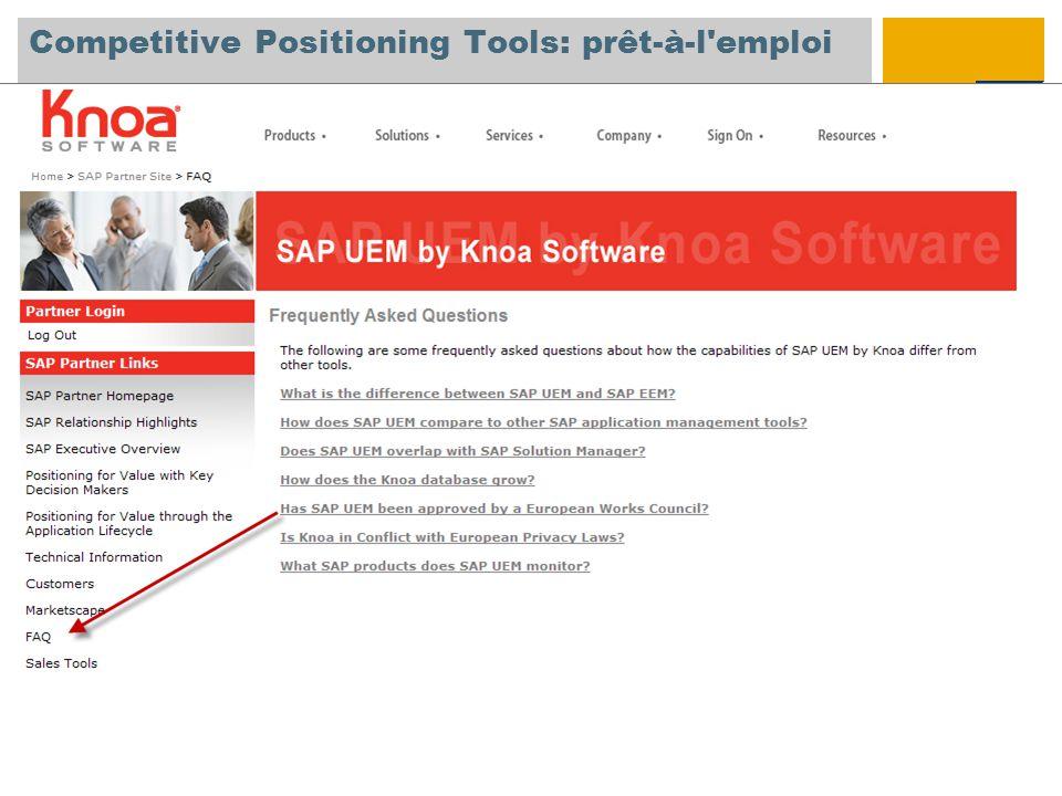 Competitive Positioning Tools: prêt-à-l emploi