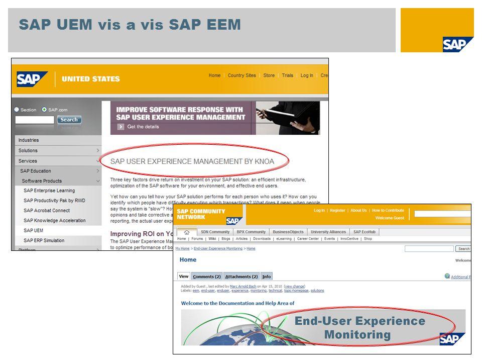 SAP UEM vis a vis SAP EEM