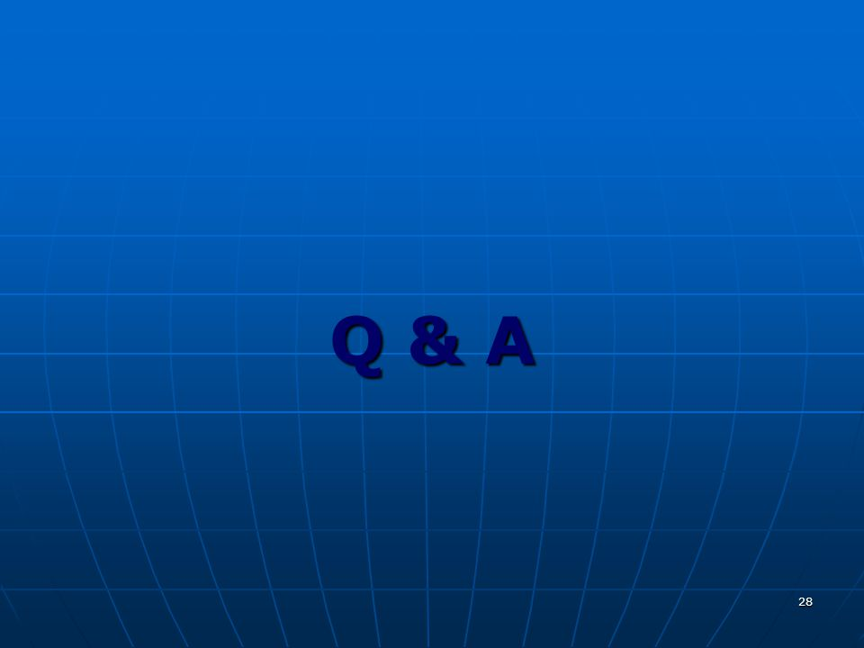 28 Q & A