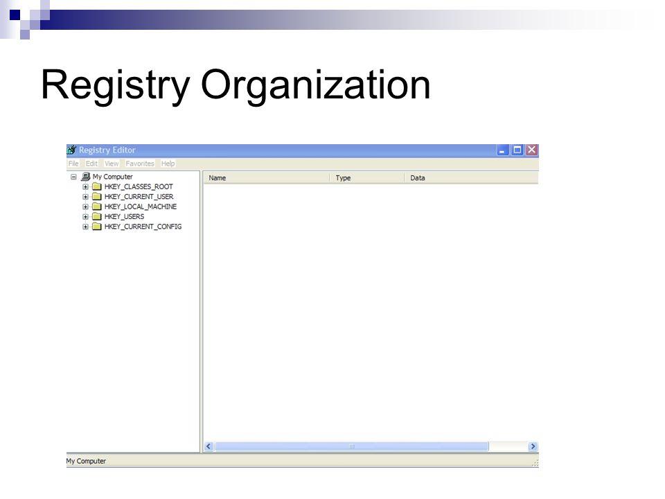 Registry Organization