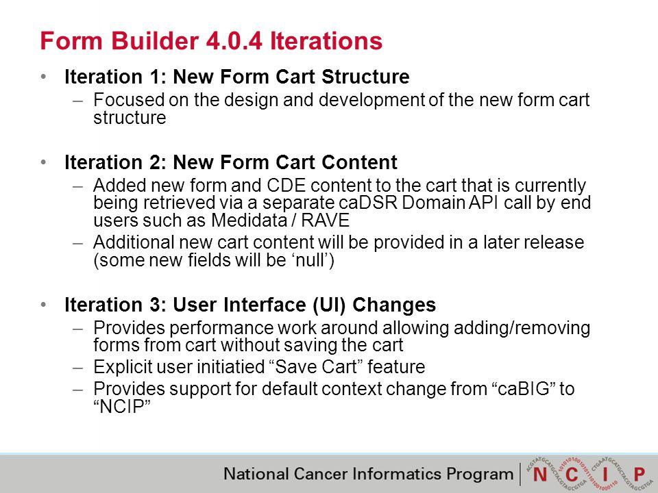 Default Context Change Default context is now NCIP