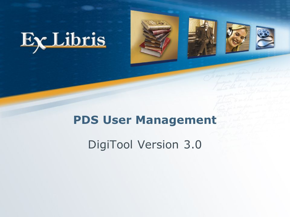 User Management 12 PDS SSO Setup In the./pds/conf_table/sso_conf file: [LOGON] TYPE1 = digitool,metalib,aleph [END] TYPE 1: Enable automatic Sign On—enables a shared session between the various TYPE1 applications.