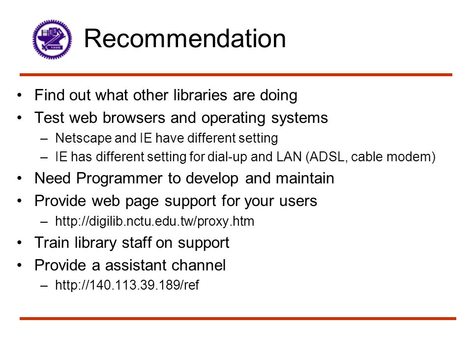 References Most contents of this presentation are from http://library.smc.edu/rua.htm More references about remote user authentication are at http://library.smc.edu/rpa.htm