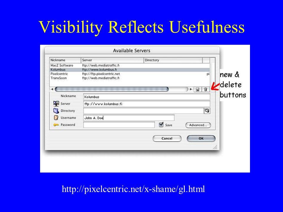 Intelligent Consistency http://pixelcentric.net/x-shame/ent.html