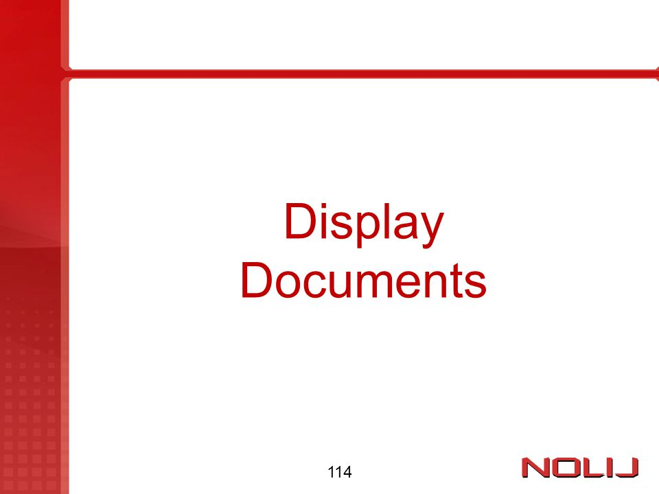 Display Documents 114
