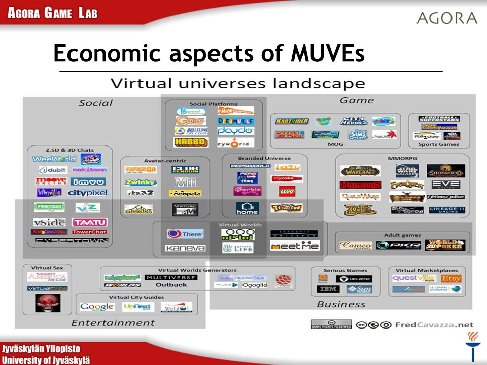 Economic aspects of MUVEs