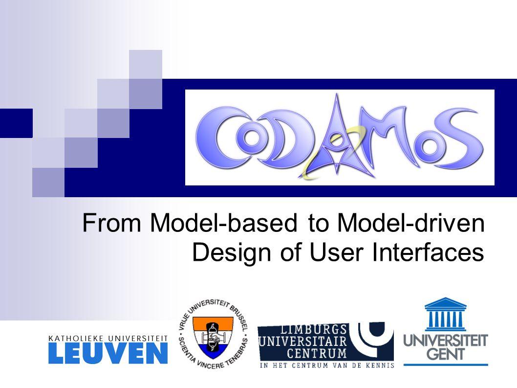 Leuven, June 9, 2005 22 / 31 CUP: Activity model – Context
