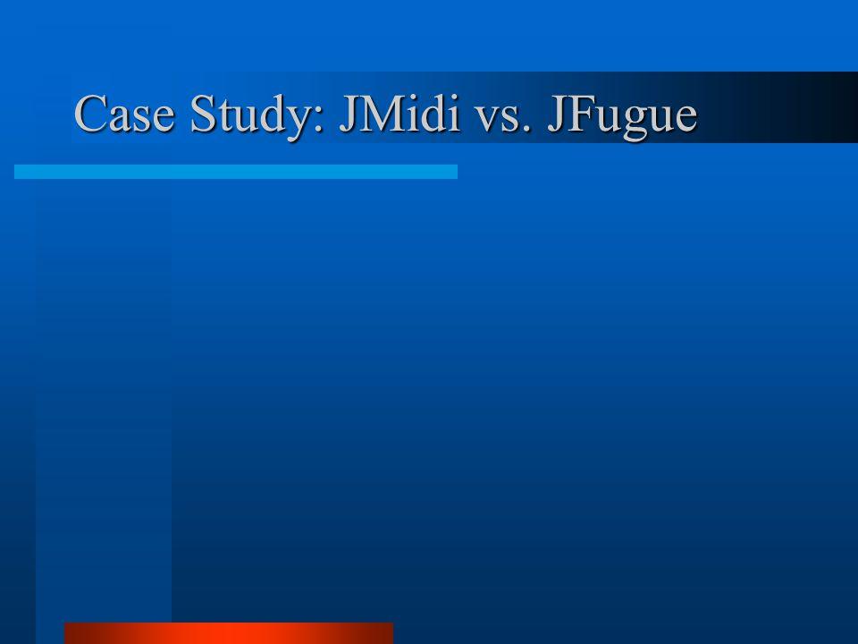 Case Study: JMidi vs. JFugue