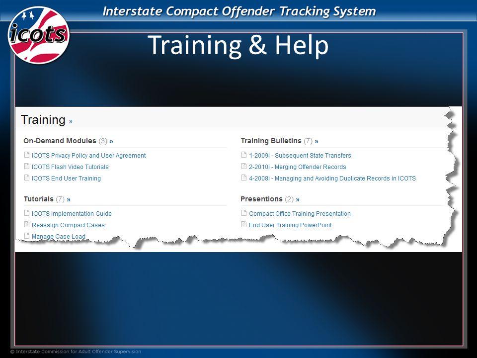 Training & Help