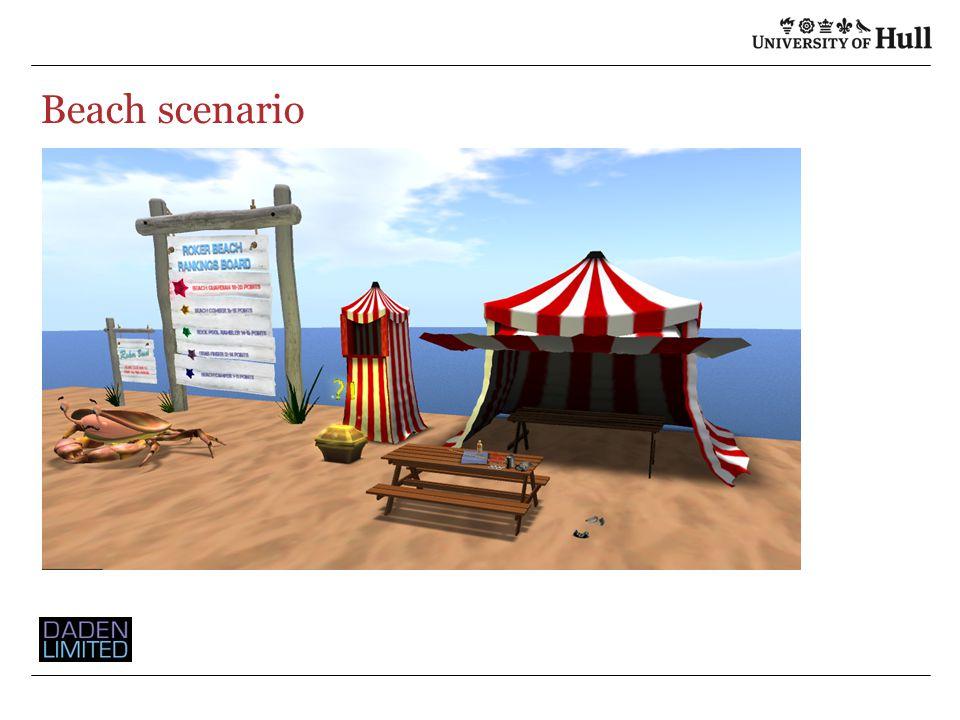 Beach scenario
