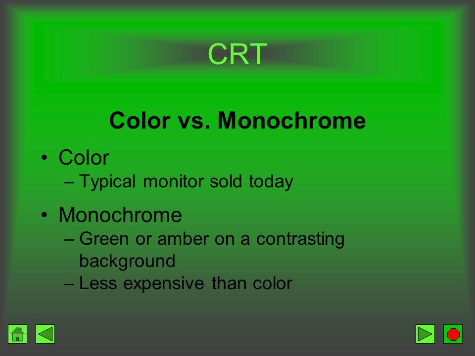 CRT Interlaced vs.