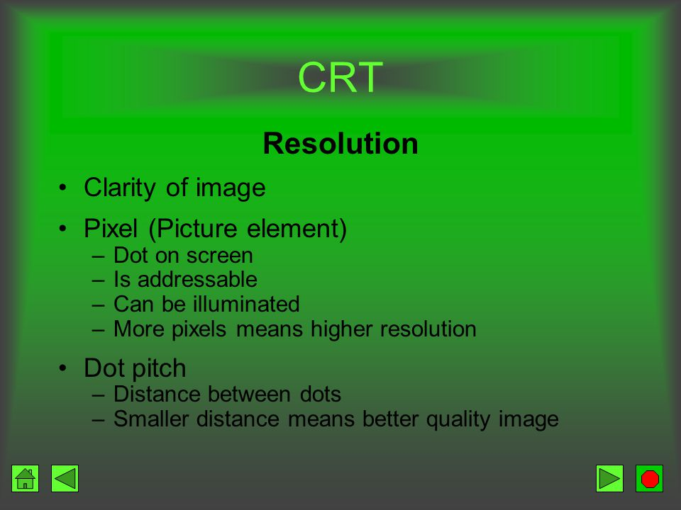 CRT Color vs.