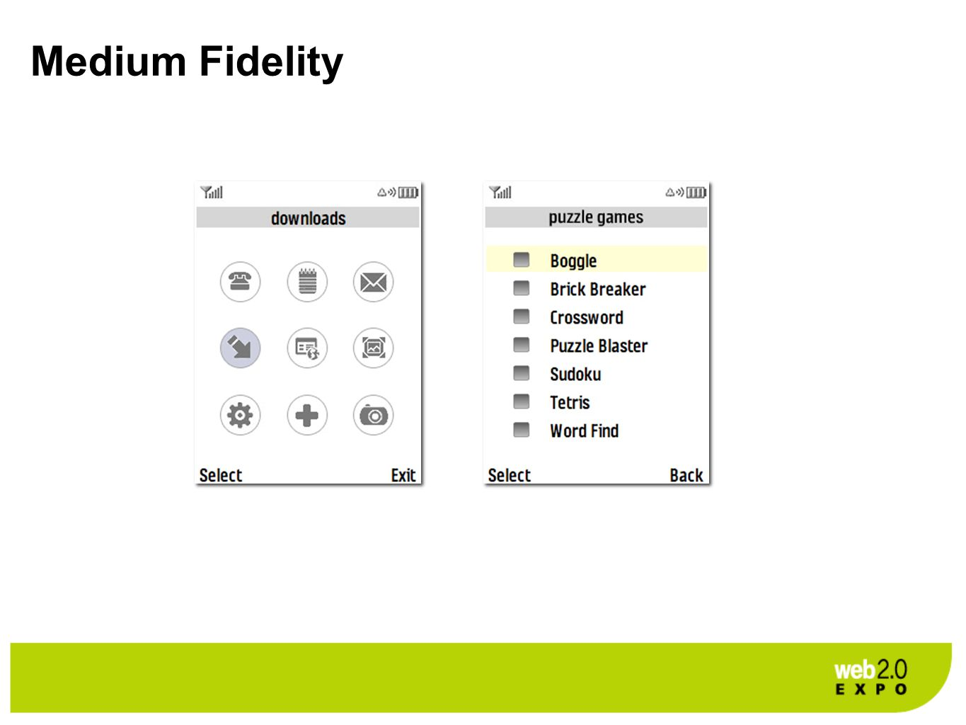 Medium Fidelity